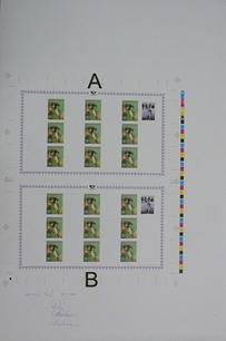 Suchínek dotisk rozmístění desek